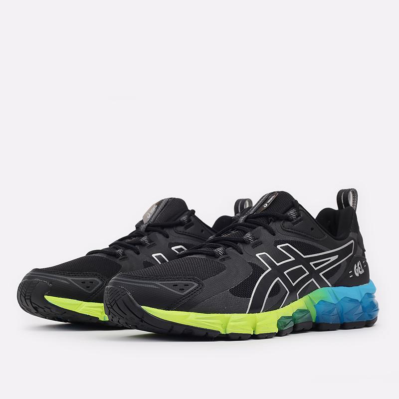 мужские чёрные  кроссовки asics gel-quantum 180 1201A063-008 - цена, описание, фото 2