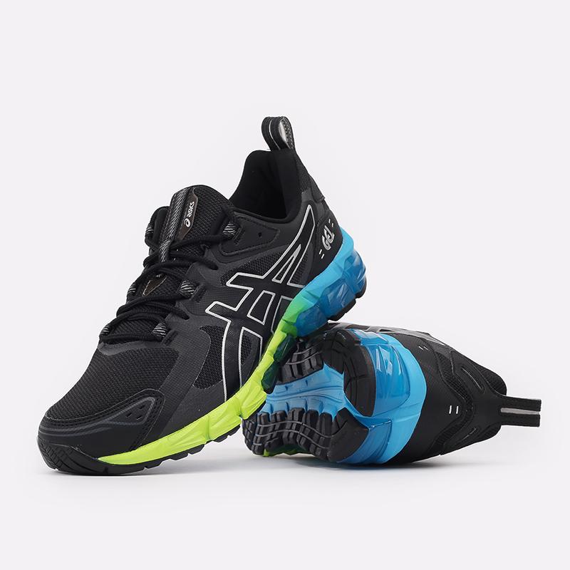 мужские чёрные  кроссовки asics gel-quantum 180 1201A063-008 - цена, описание, фото 5