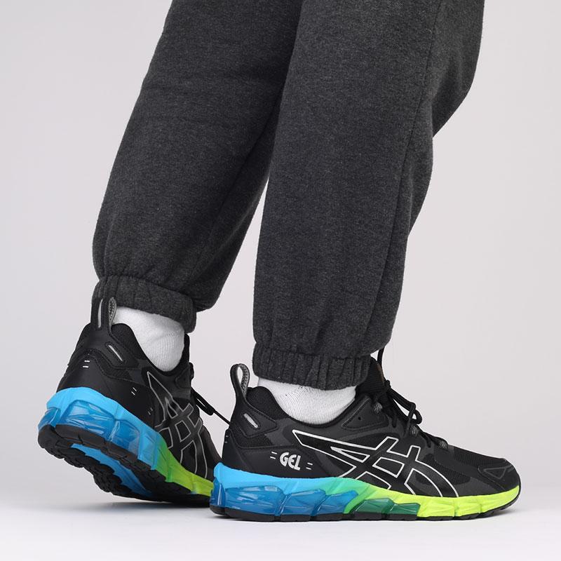 мужские чёрные  кроссовки asics gel-quantum 180 1201A063-008 - цена, описание, фото 8