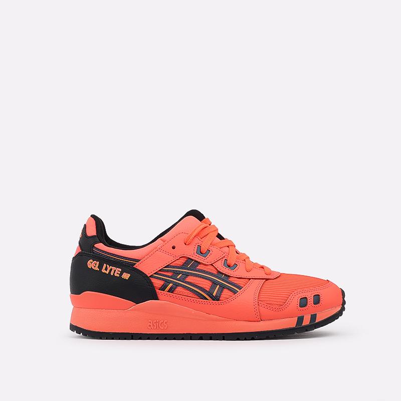 мужские оранжевые  кроссовки asics gel-lyte iii og 1201A052-700 - цена, описание, фото 1