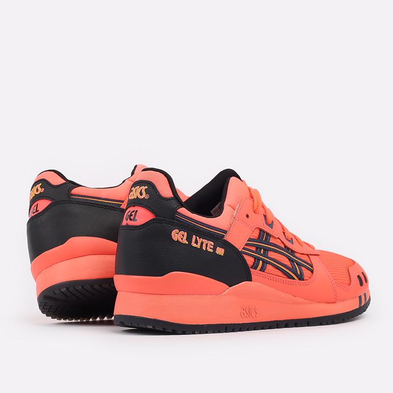 мужские оранжевые  кроссовки asics gel-lyte iii og 1201A052-700 - цена, описание, фото 3
