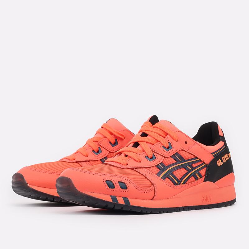 мужские оранжевые  кроссовки asics gel-lyte iii og 1201A052-700 - цена, описание, фото 2