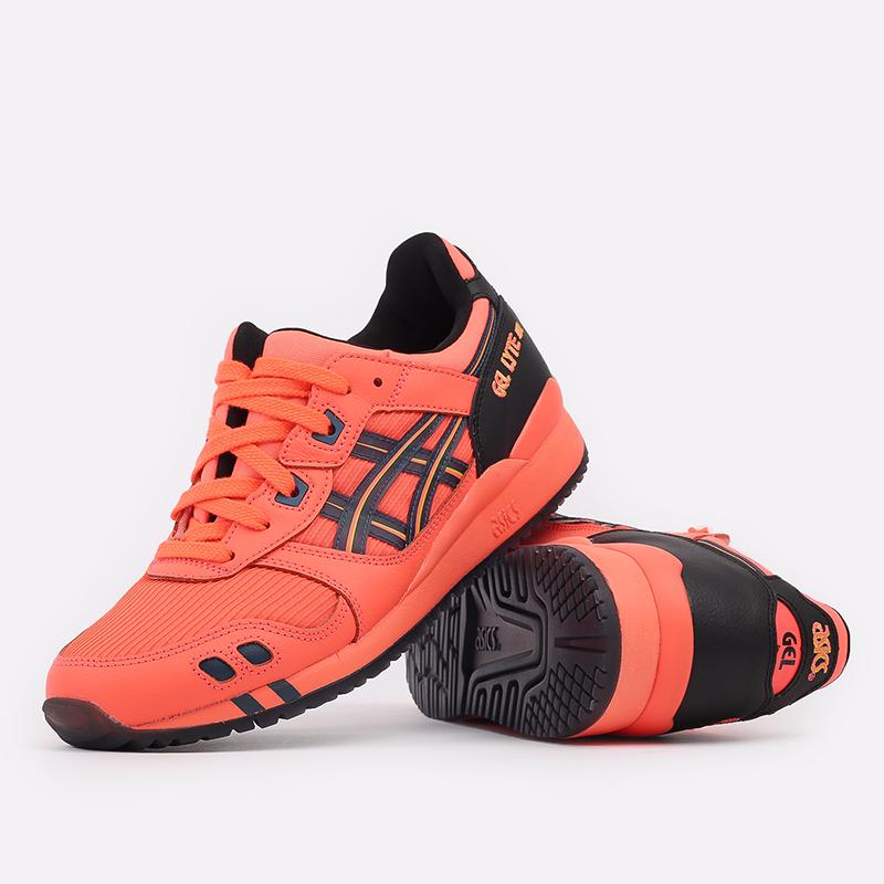 мужские оранжевые  кроссовки asics gel-lyte iii og 1201A052-700 - цена, описание, фото 5
