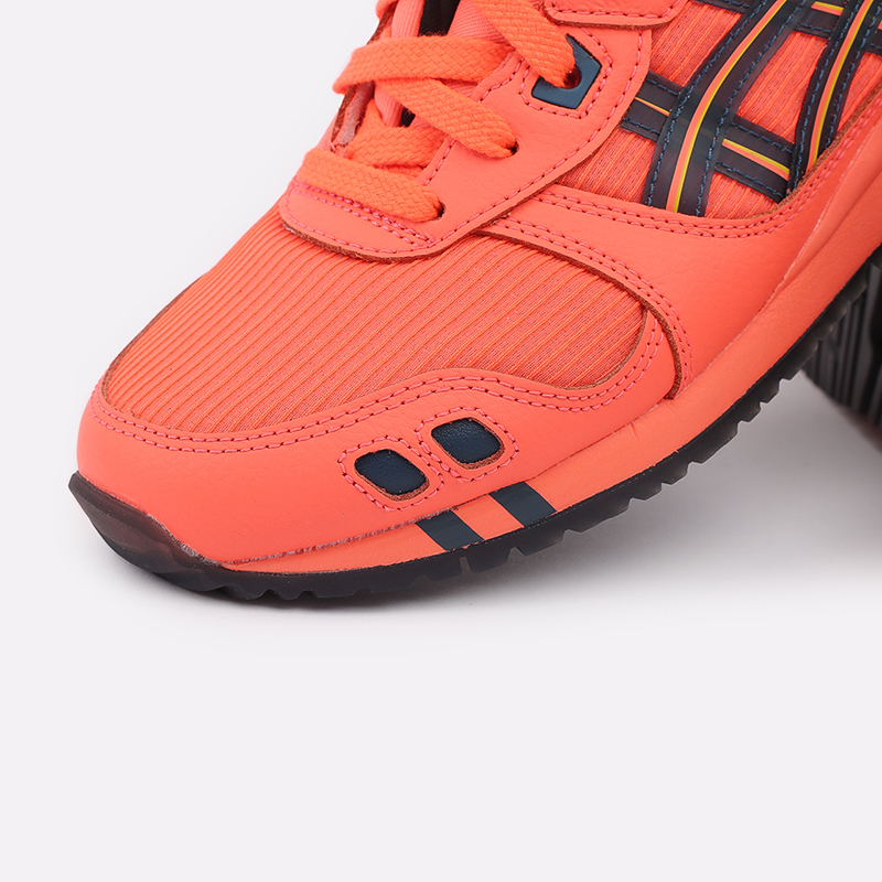 мужские оранжевые  кроссовки asics gel-lyte iii og 1201A052-700 - цена, описание, фото 6