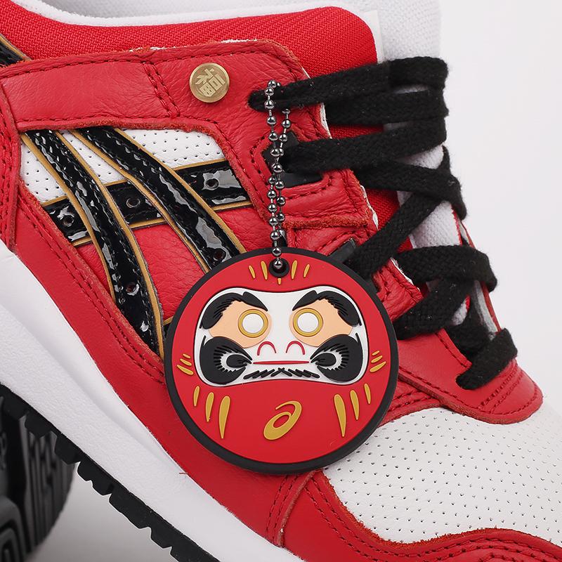 мужские красные  кроссовки asics gel-lyte iii og 1201A180-600 - цена, описание, фото 8