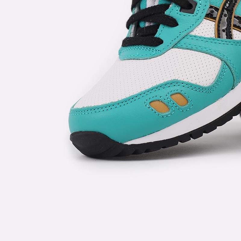 мужские голубые кроссовки ASICS Gel-Lyte III OG 1201A180-300 - цена, описание, фото 6