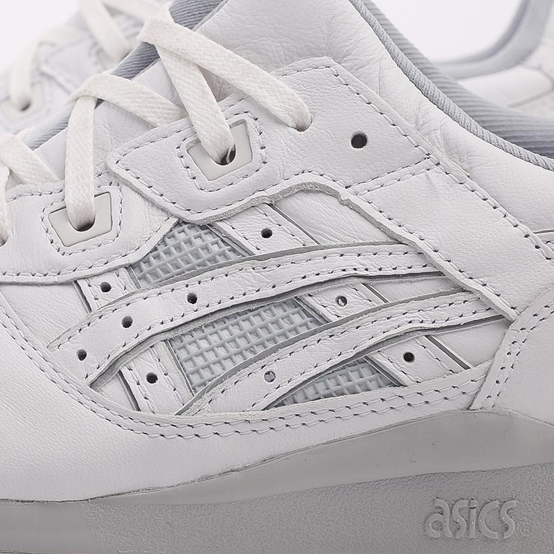 мужские белые  кроссовки asics gel-lyte iii og 1201A081-100 - цена, описание, фото 7
