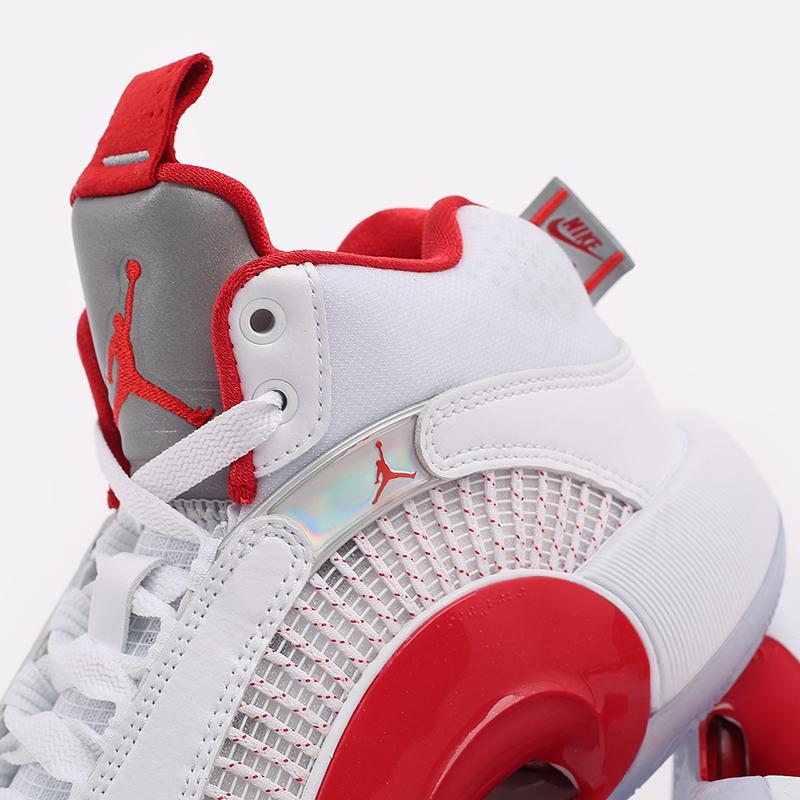 женские белые  кроссовки jordan xxxv (gs) CQ9433-100 - цена, описание, фото 7