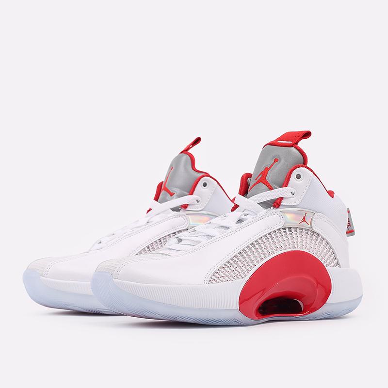 женские белые  кроссовки jordan xxxv (gs) CQ9433-100 - цена, описание, фото 2