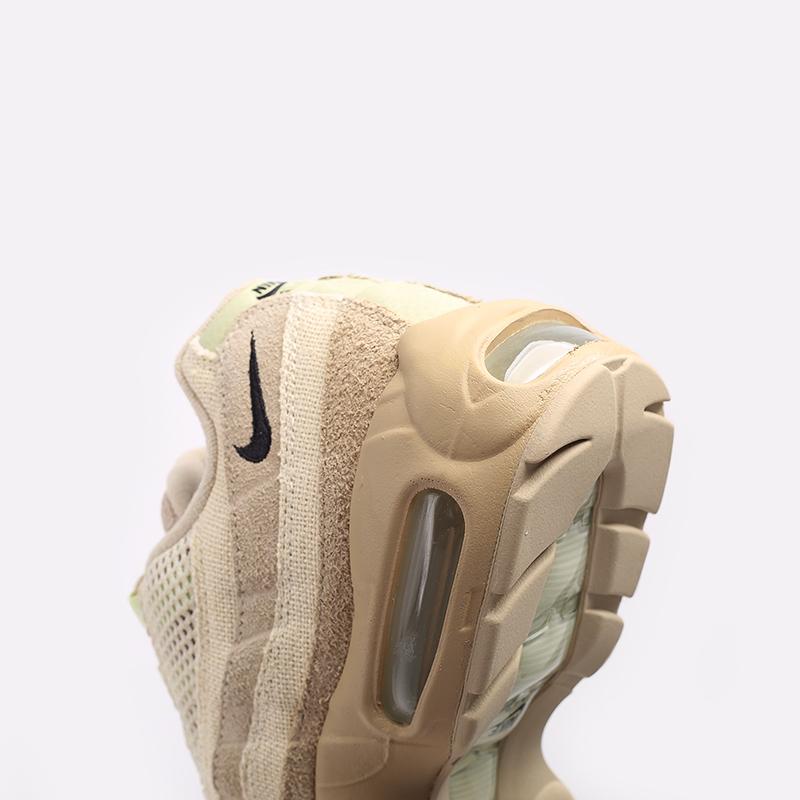 мужские бежевые  кроссовки nike air max 95 prm DH4102-200 - цена, описание, фото 6