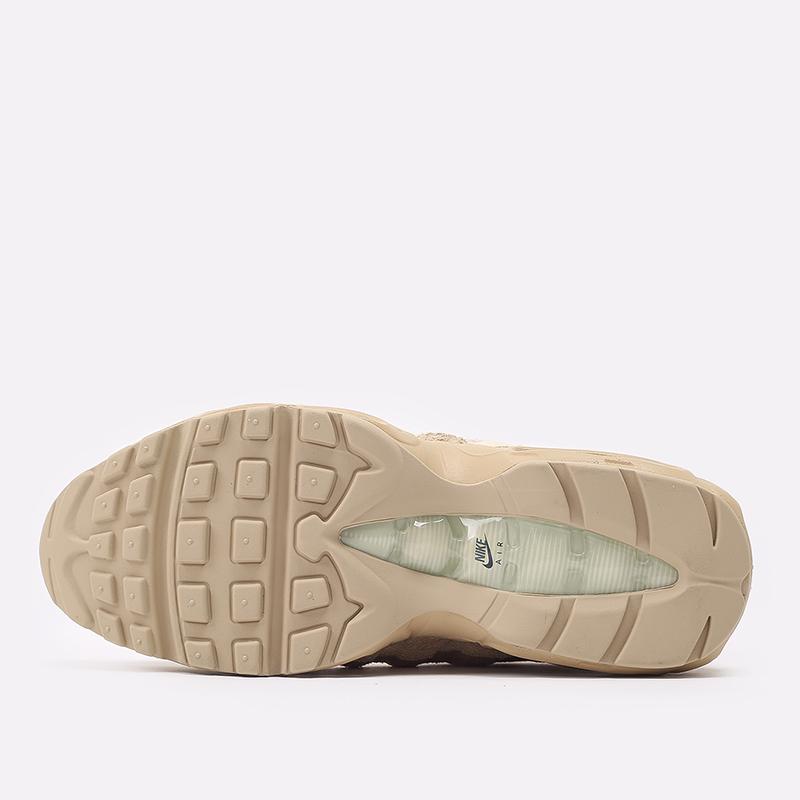 мужские бежевые  кроссовки nike air max 95 prm DH4102-200 - цена, описание, фото 4