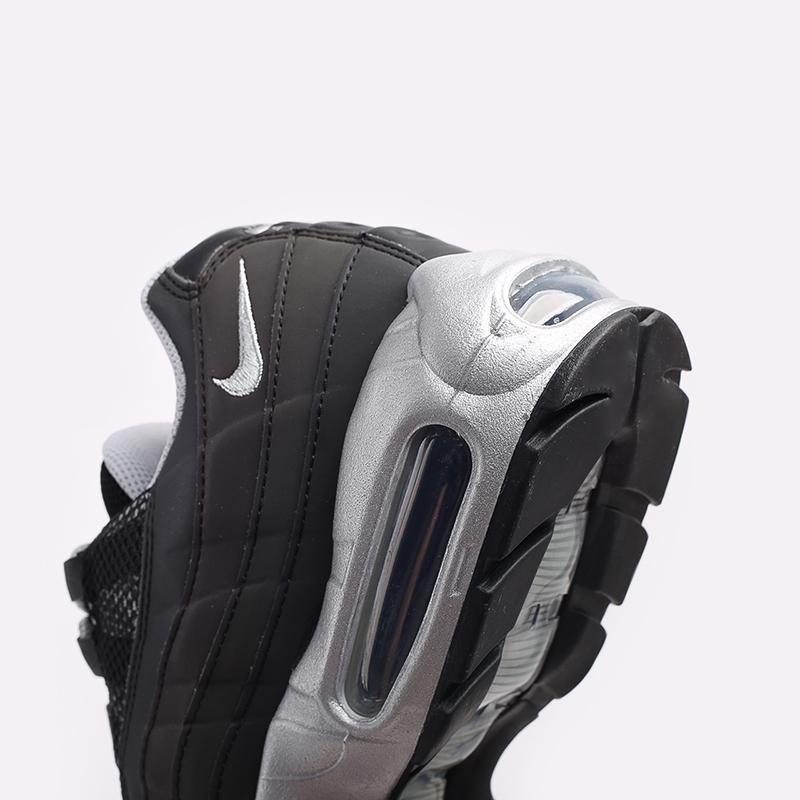 мужские чёрные  кроссовки nike air max 95 prm DH8075-001 - цена, описание, фото 6