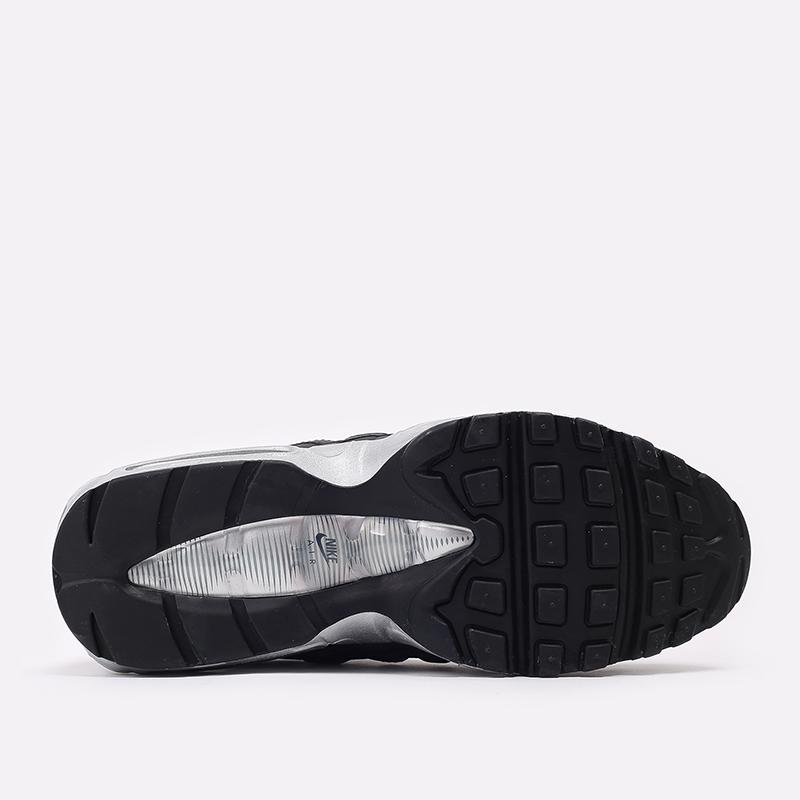 мужские чёрные  кроссовки nike air max 95 prm DH8075-001 - цена, описание, фото 4