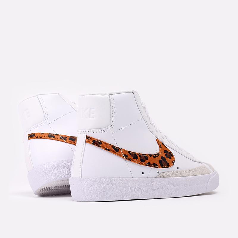 женские белые  кроссовки nike wmns blazer mid '77 se  DA8736-101 - цена, описание, фото 3