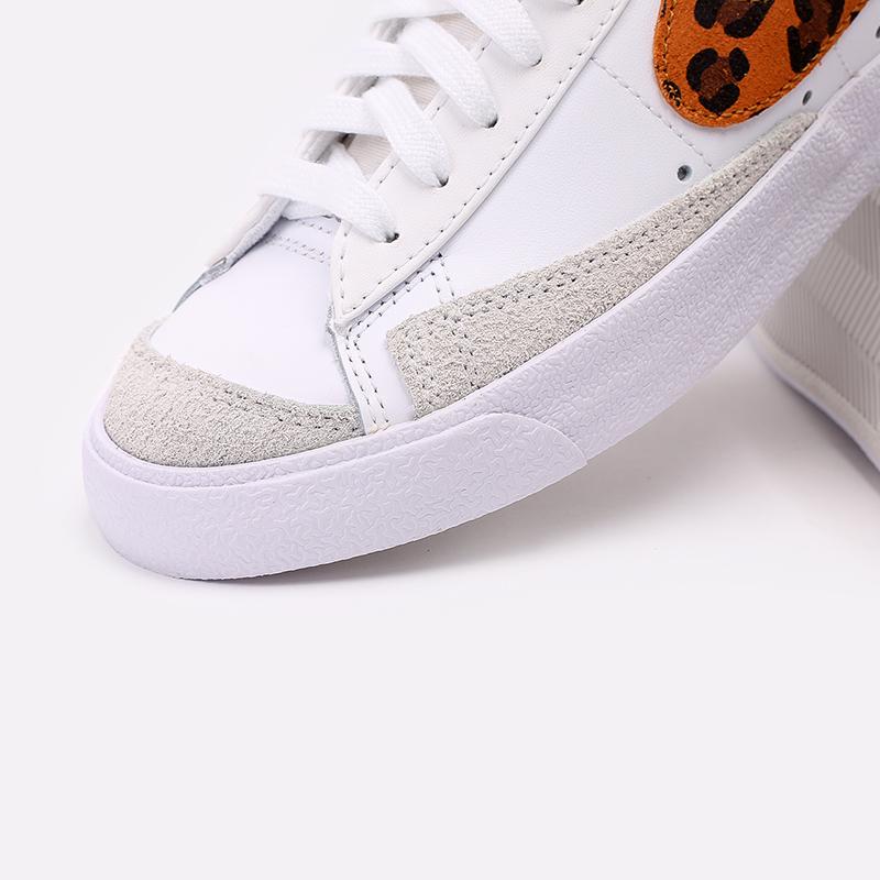 женские белые  кроссовки nike wmns blazer mid '77 se  DA8736-101 - цена, описание, фото 6