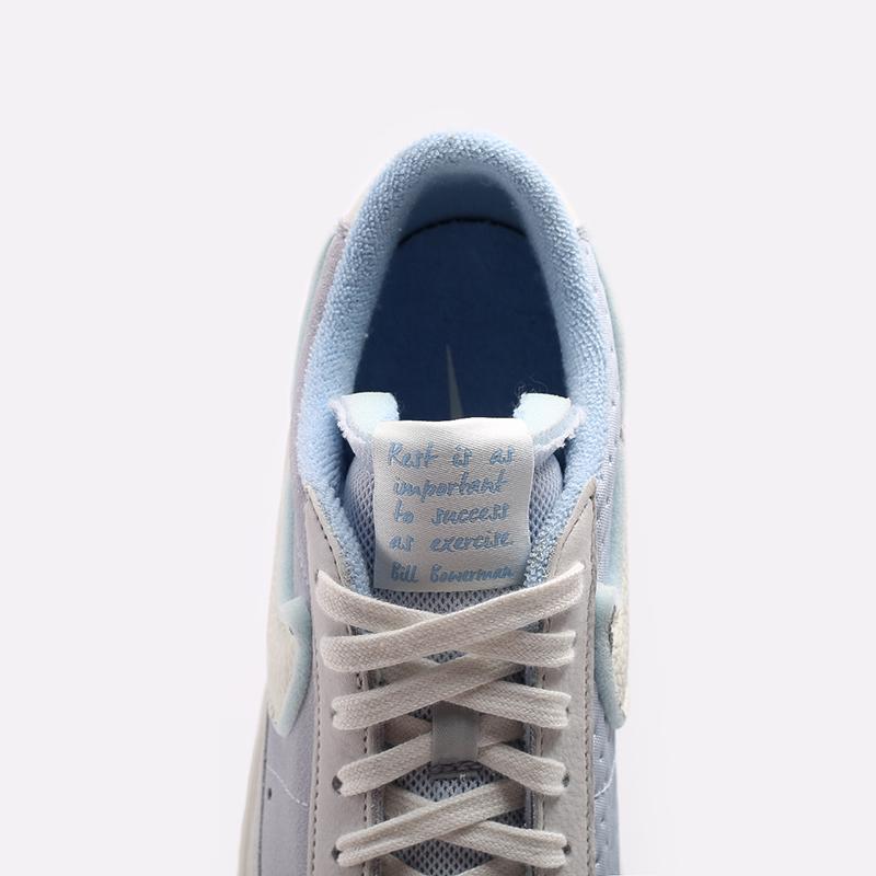 мужские голубые  кроссовки nike blazer low vntg '77 DH4101-001 - цена, описание, фото 7