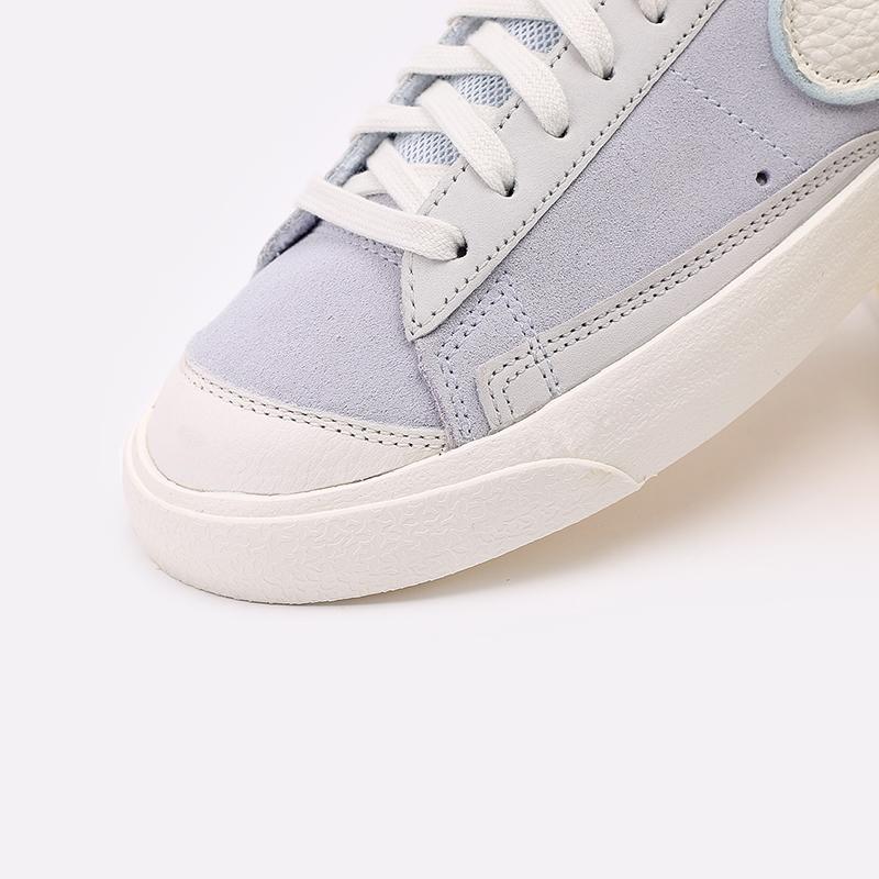 мужские голубые  кроссовки nike blazer low vntg '77 DH4101-001 - цена, описание, фото 8