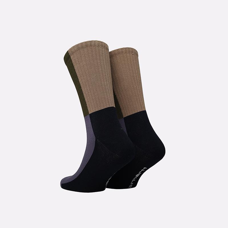мужские разноцветные  носки carhartt wip valiant socks I028832-provence - цена, описание, фото 2