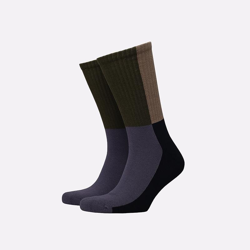 мужские разноцветные  носки carhartt wip valiant socks I028832-provence - цена, описание, фото 1