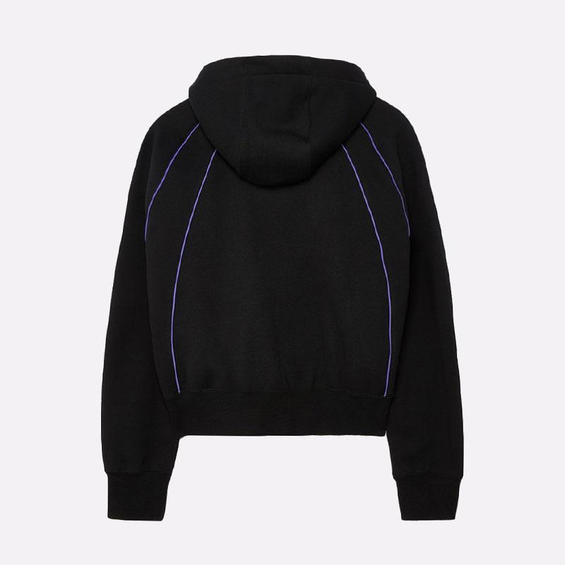 женскую черную  толстовка jordan paris saint-germain women's pullover hoodie CZ7497-010 - цена, описание, фото 5
