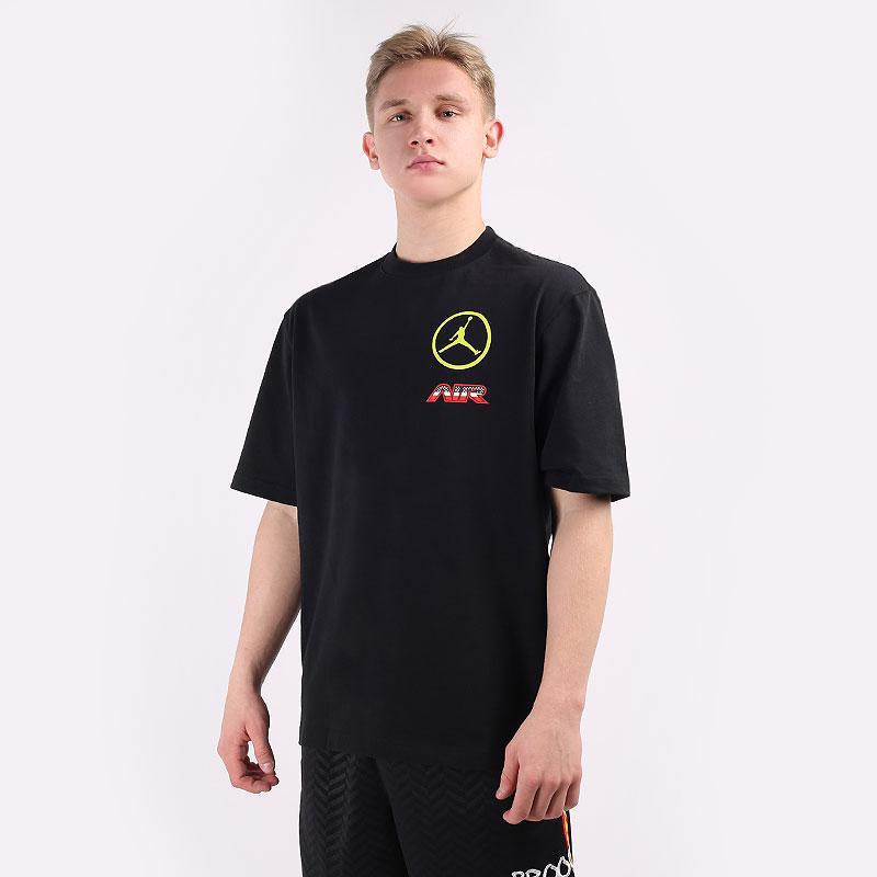 мужскую черную  футболка jordan sport dna short-sleeve t-shirt CV2993-010 - цена, описание, фото 1