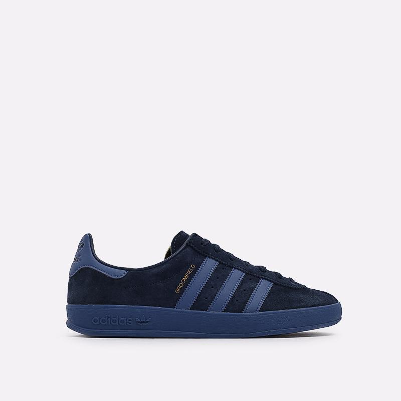 мужские синие  кроссовки adidas broomfield FX5678 - цена, описание, фото 1