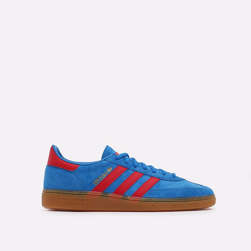 мужские голубые  кроссовки adidas handball spezial FX5675 - цена, описание, фото 1