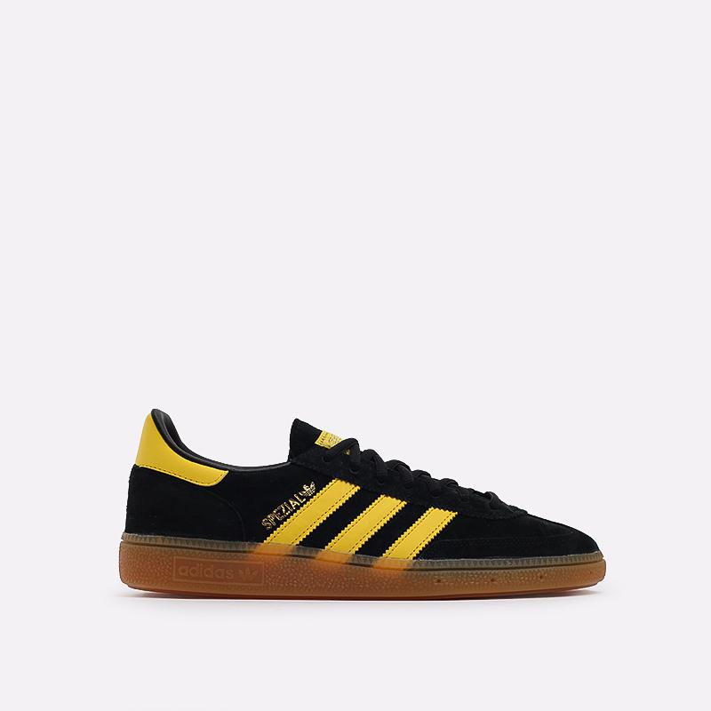мужские чёрные  кроссовки adidas handball spezial FX5676 - цена, описание, фото 1