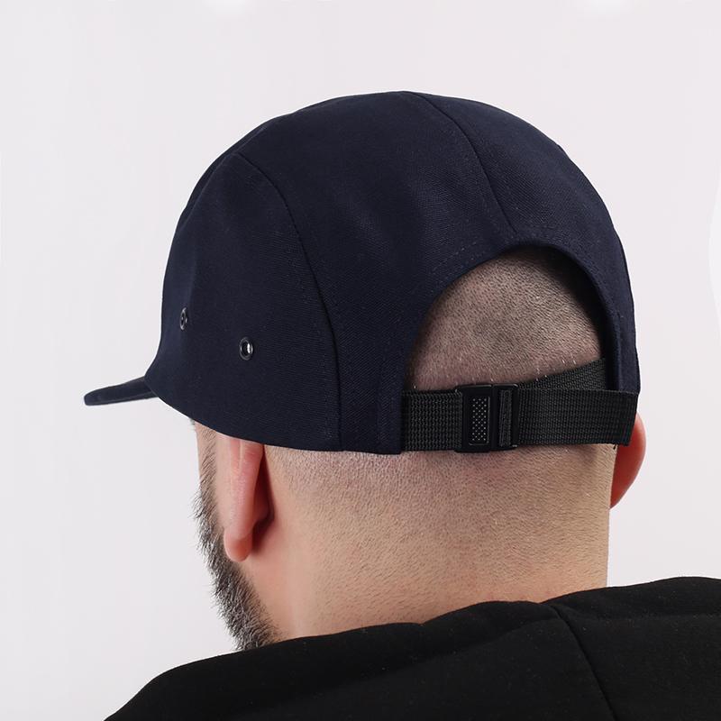 мужскую синюю  кепка carhartt wip backley I016607-dark navy - цена, описание, фото 2