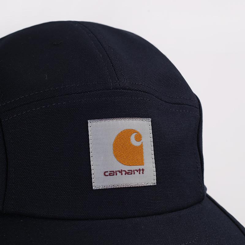 мужскую синюю  кепка carhartt wip backley I016607-dark navy - цена, описание, фото 3