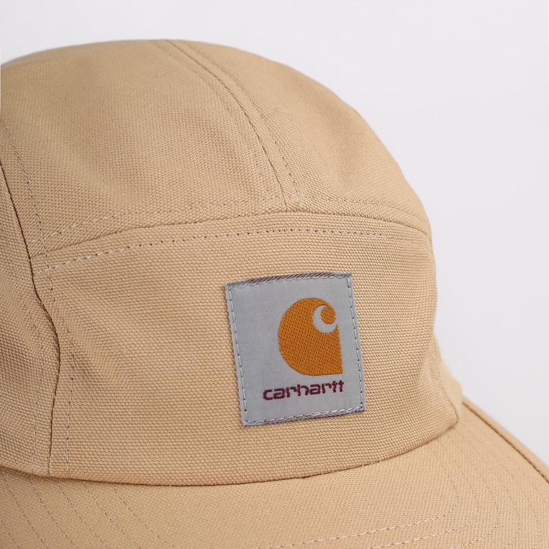мужскую бежевую  кепка carhartt wip backley I016607-dusty/brwn - цена, описание, фото 3