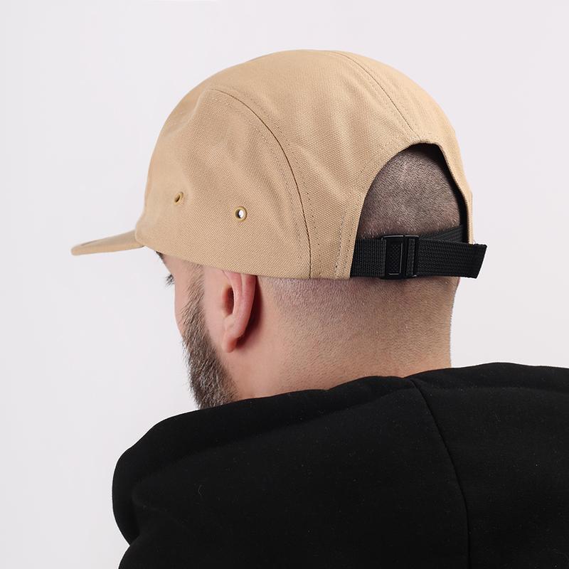 мужскую бежевую  кепка carhartt wip backley I016607-dusty/brwn - цена, описание, фото 2
