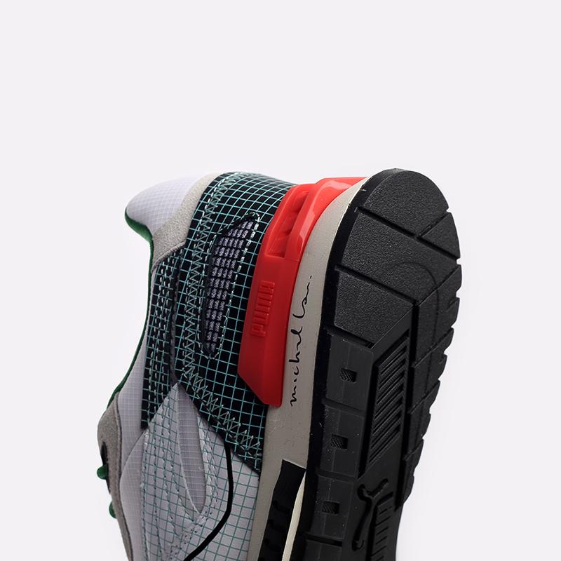 мужские белые  кроссовки puma mirage mox x michael lau 37519601 - цена, описание, фото 8