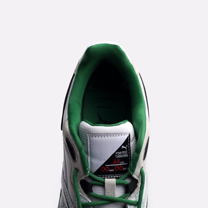 мужские белые  кроссовки puma mirage mox x michael lau 37519601 - цена, описание, фото 7