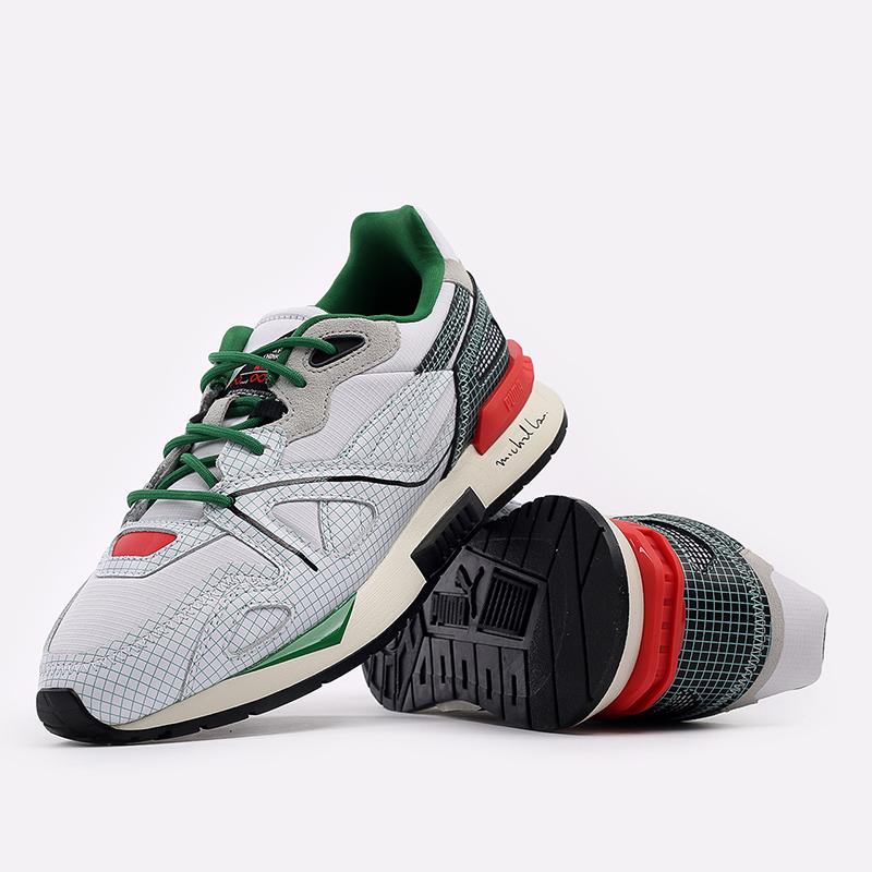 мужские белые  кроссовки puma mirage mox x michael lau 37519601 - цена, описание, фото 5
