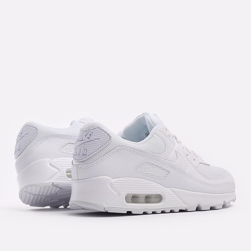 мужские белые  кроссовки nike air max 90 CN8490-100 - цена, описание, фото 3