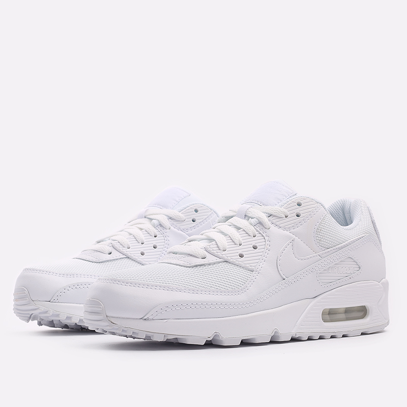 мужские белые  кроссовки nike air max 90 CN8490-100 - цена, описание, фото 2