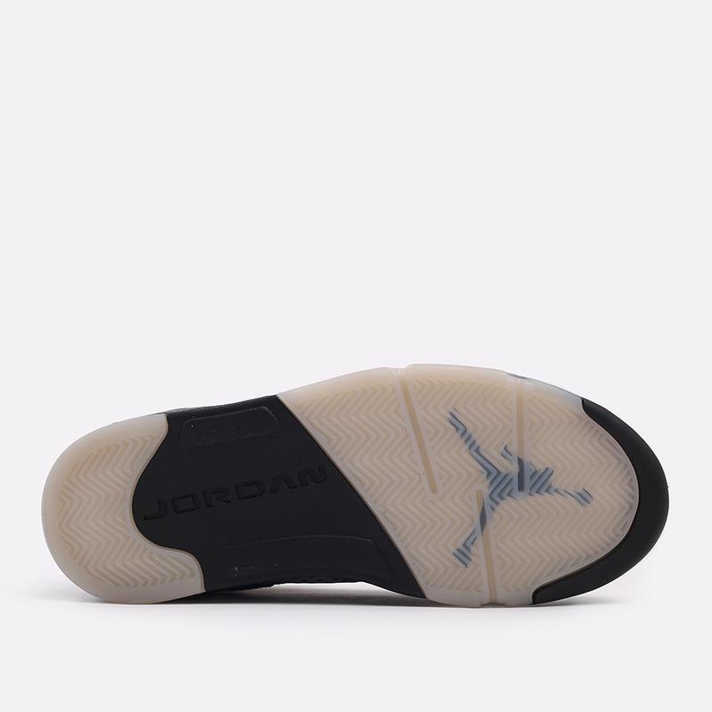 мужские чёрные  кроссовки jordan 5 retro DB0731-001 - цена, описание, фото 4