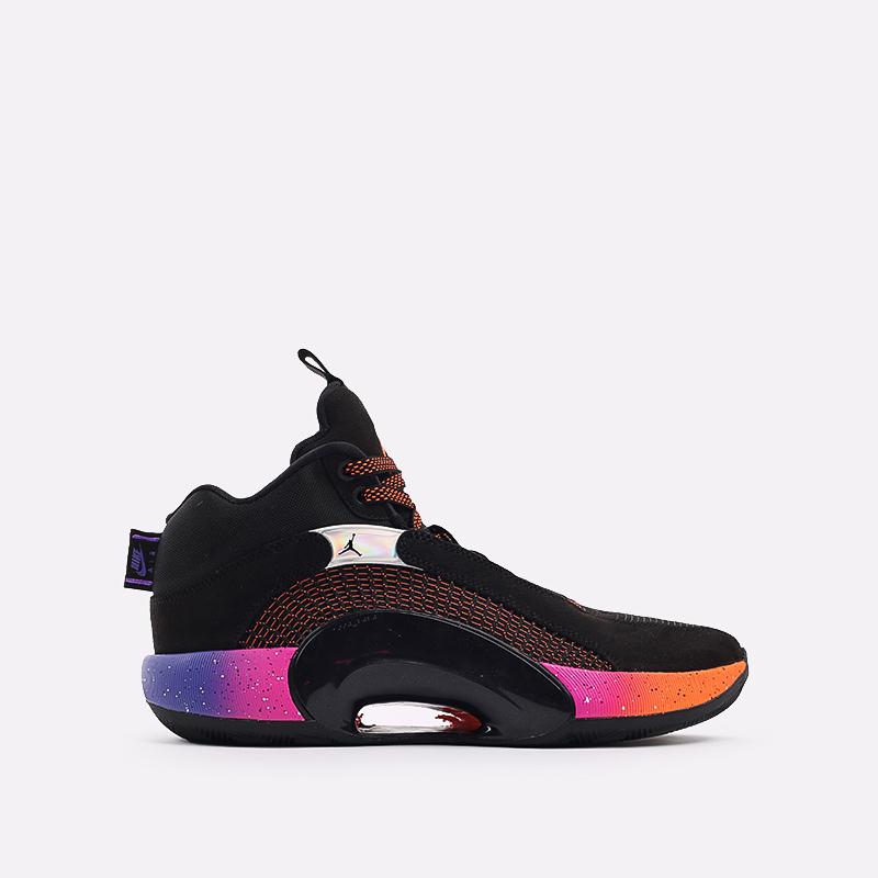 мужские чёрные  кроссовки jordan xxxv CQ4227-004 - цена, описание, фото 1