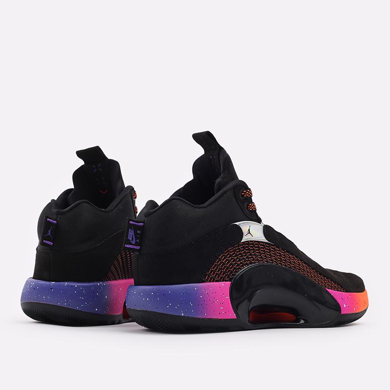 мужские чёрные  кроссовки jordan xxxv CQ4227-004 - цена, описание, фото 3