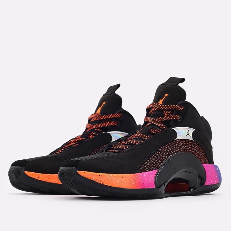 мужские чёрные  кроссовки jordan xxxv CQ4227-004 - цена, описание, фото 2