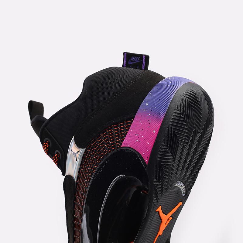 мужские чёрные  кроссовки jordan xxxv CQ4227-004 - цена, описание, фото 5