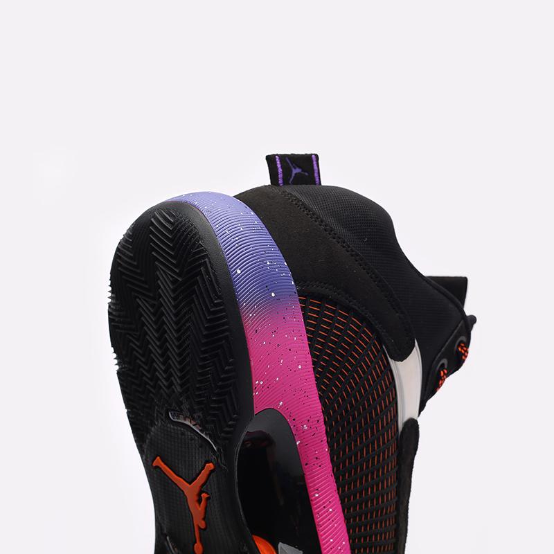 мужские чёрные  кроссовки jordan xxxv CQ4227-004 - цена, описание, фото 6