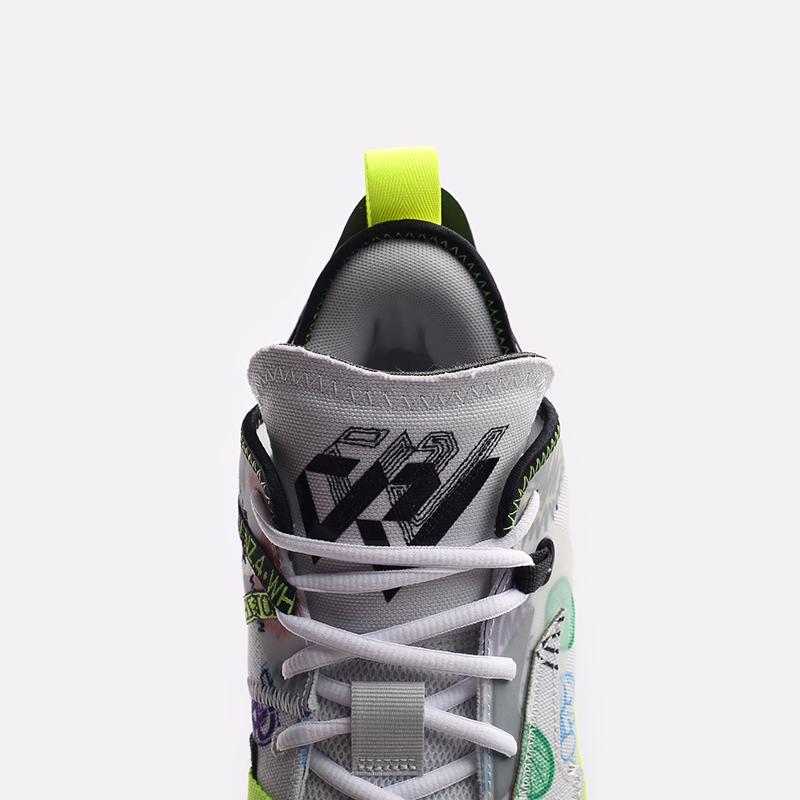 мужские белые  кроссовки jordan why not zero.4 DD4887-007 - цена, описание, фото 5