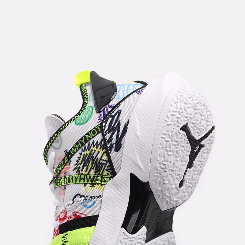 мужские белые  кроссовки jordan why not zero.4 DD4887-007 - цена, описание, фото 8