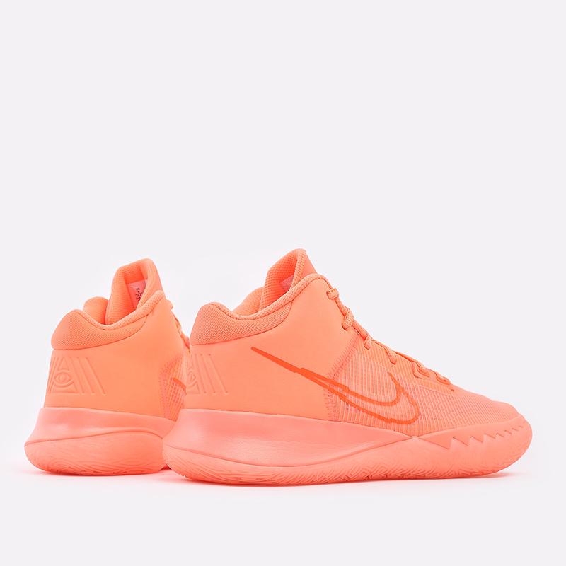мужские оранжевые  кроссовки nike kyrie flytrap iv CT1972-800 - цена, описание, фото 3
