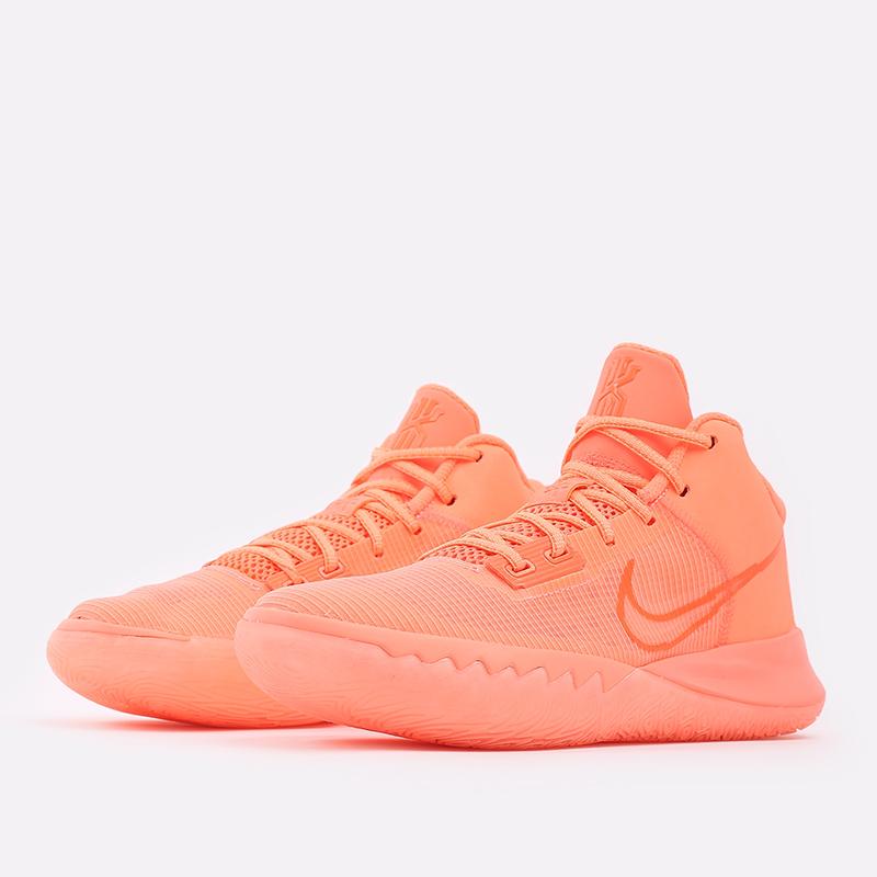 мужские оранжевые  кроссовки nike kyrie flytrap iv CT1972-800 - цена, описание, фото 2