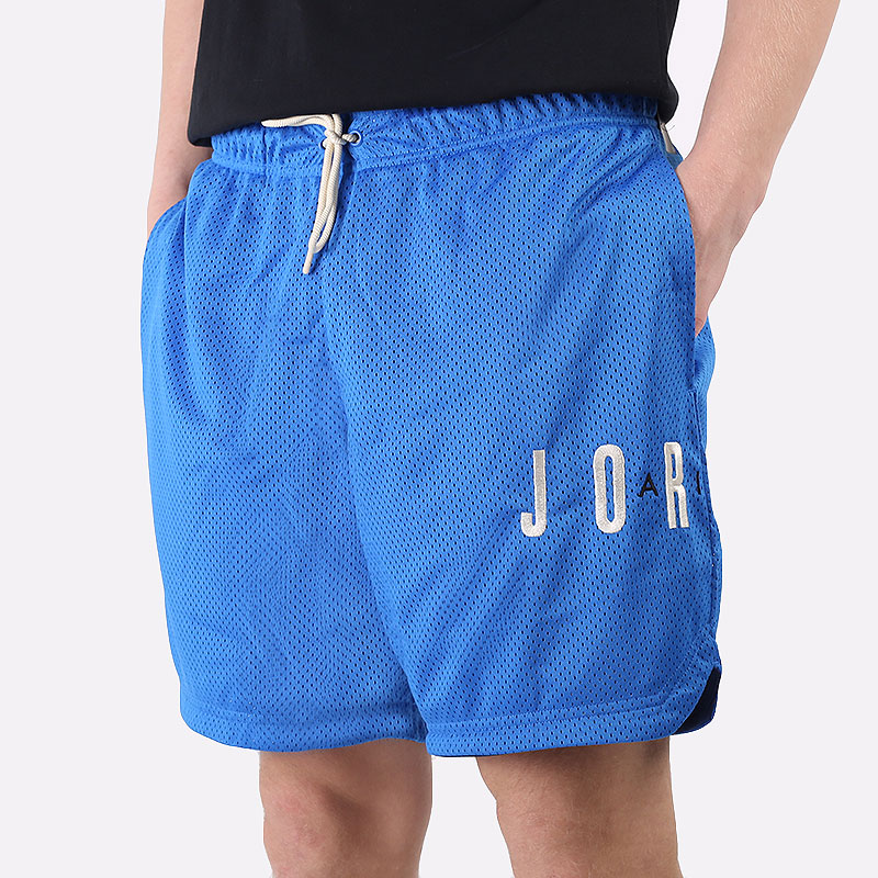 мужские синие  шорты  jordan jumpman air shorts CV3098-403 - цена, описание, фото 1