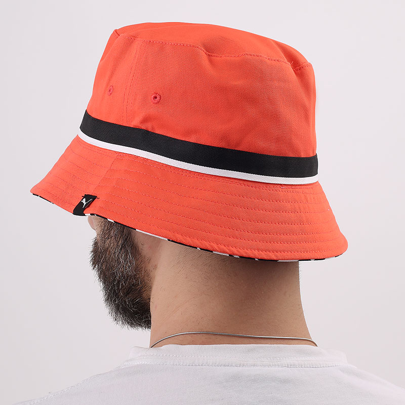 розовую  панама puma basketball bucket hat 02338102-fiery coral - цена, описание, фото 2