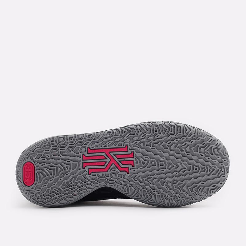 женские чёрные  кроссовки nike kyrie 7 (gs) CT4080-008 - цена, описание, фото 4